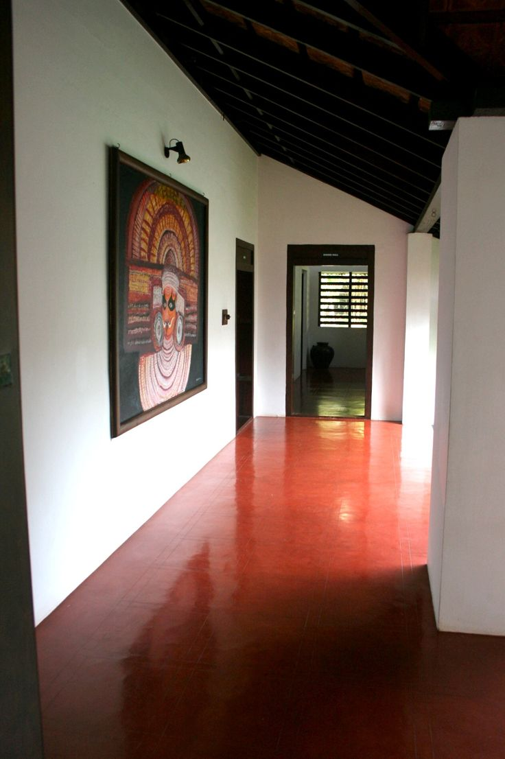 Red Oxide Flooring Traditional Indian Homes Pinterest