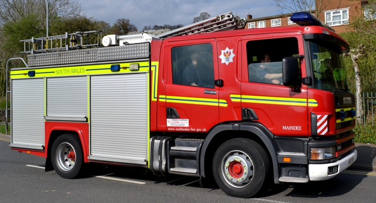 Scania Fire Engine South Wales Trucks n tractors