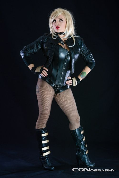 Black Canary Cosplay Costumes And Cosplay Pinterest