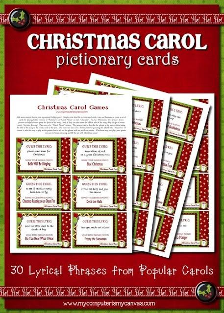 Christmas Carol Pictionary! ) Christmas