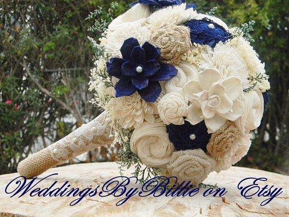 17 Best Ideas About Navy Wedding Flowers On Pinterest