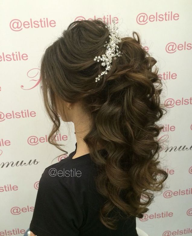 Lovely bridal look          Make up, hairstyles                                                           Web: www.elstile.ru, www.elstile.com: