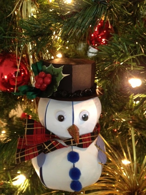 Misty's Snowman Box is adorable! He's from CHRISTMAS OPEN