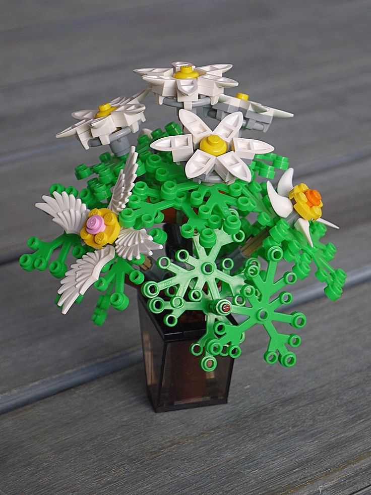 Blumen_3 LEGO® Flowers and Plants Pinterest More
