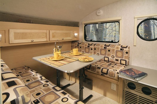 TB Camper Interior 2 Camper Plans Ideas Pinterest