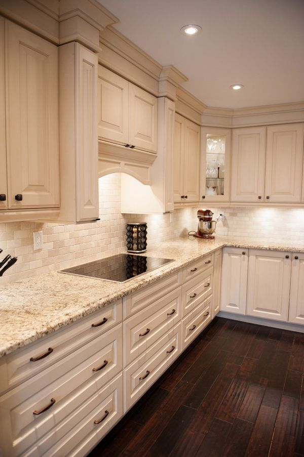 White Cabinets With Granite Tops. granite countertops to your ...