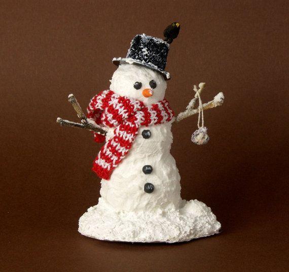 58 Best Images About Miniature Snowmen On Pinterest