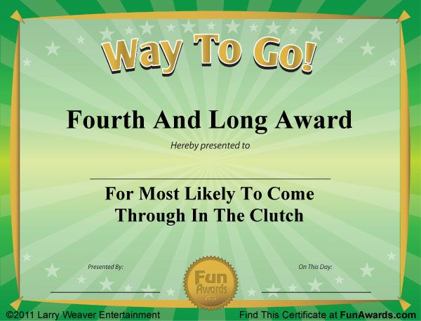 Funny Certificates Templates  1000 ideas about award certificates on