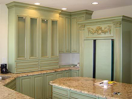 Sage Cabinets In Kitchen For The Home Pinterest