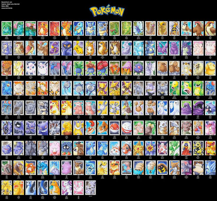 Pokemon 151 all original posters by stephen dwyer