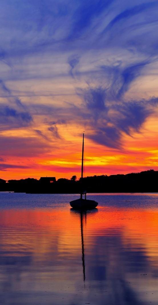 Sail Into The Sunset Massachusetts Amazing World