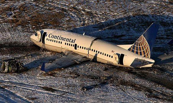 Continental Airlines Boeing 737 Crash Denver Disasters