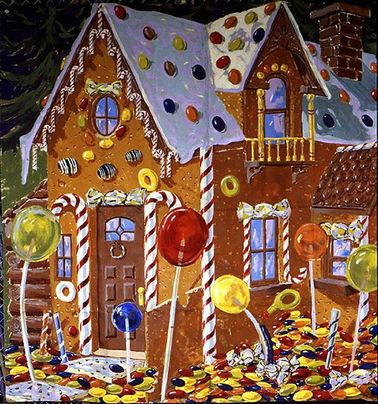 candy house inspiration hansel and gretel Pinterest
