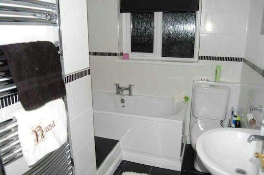 Small L Shaped Bathroom Idea House Upcycle Bathroom