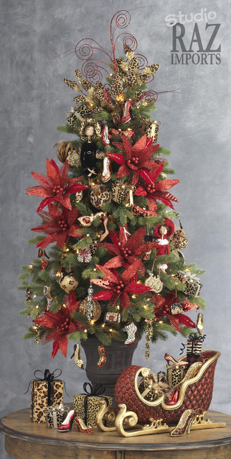 2013 Christmas Tree RAZ Past Christmas Trees Pinterest