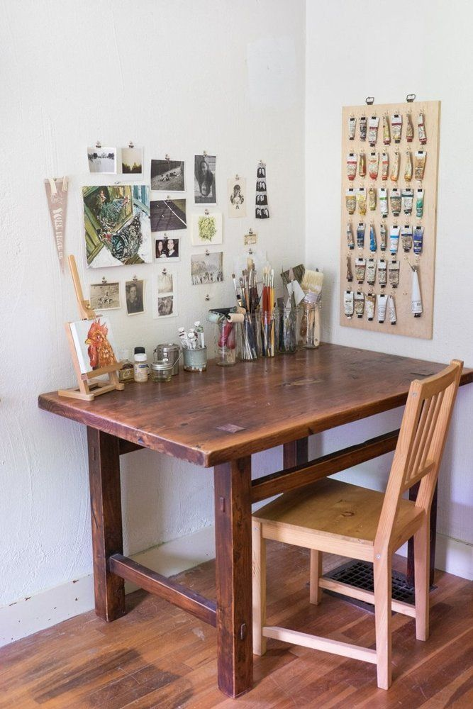 Best 25 Art Desk Ideas On Pinterest Craft Room Design