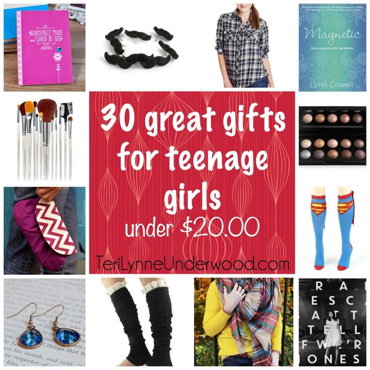 looking for great gifts for teenage girls? check out this