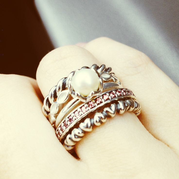10 Images About Stack Attack Pandora Rings On Pinterest