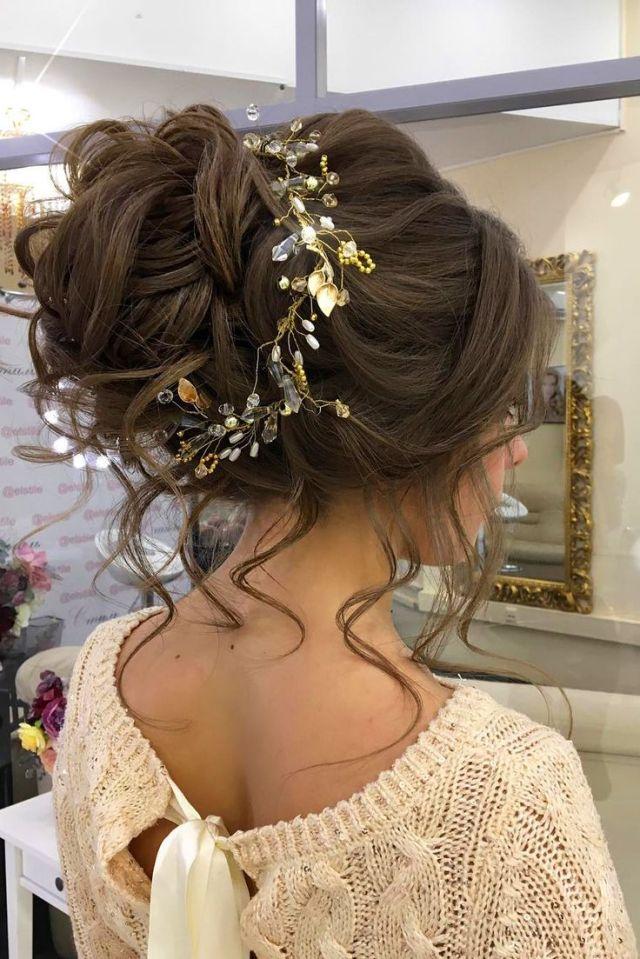25 best ideas about Wedding  bun hairstyles  on Pinterest