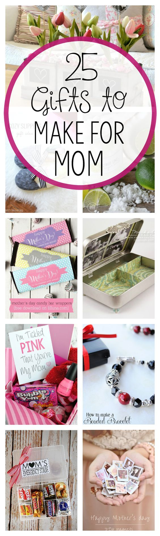 DIY Mother's Day Gift Ideas Mothers, Ideas and Mother's day