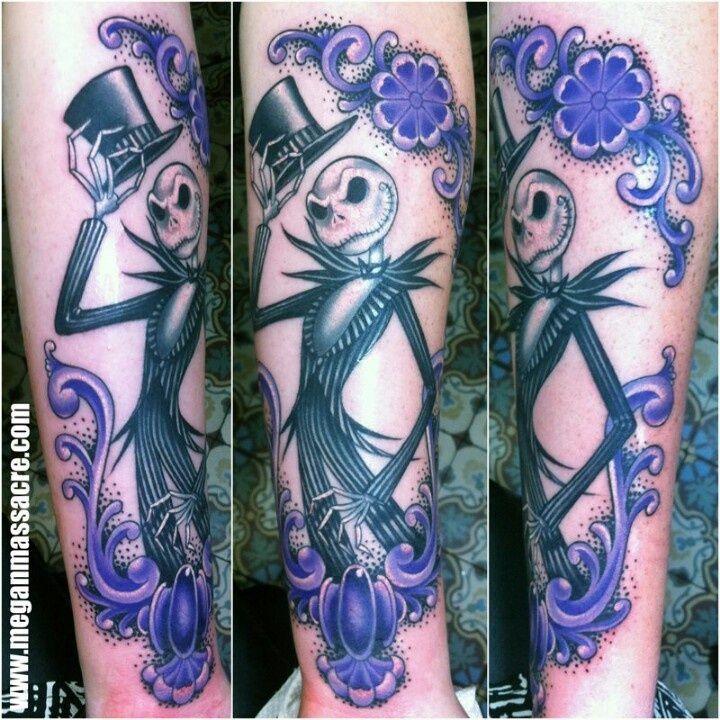 Jack Skellington tatoo Megan Massacre The