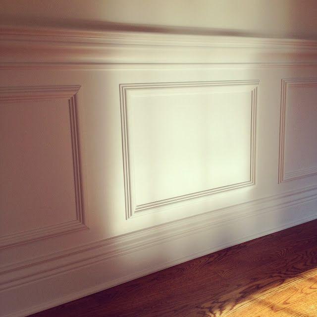 Bedroom chair rail ideas. covet du jour foyer design board. chair ...