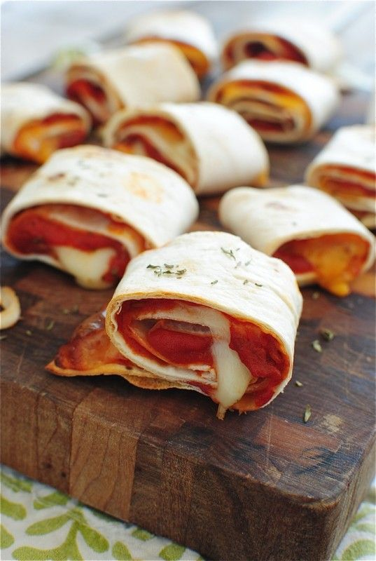 Easy Homemade Pizza Rolls / Bev Cooks