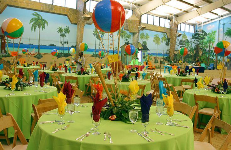 Mitzvah-party-island-style-table-decor.jpg 846×550 Pixels