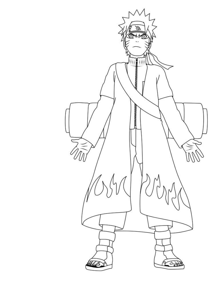 kakashi hatake book coloring pages