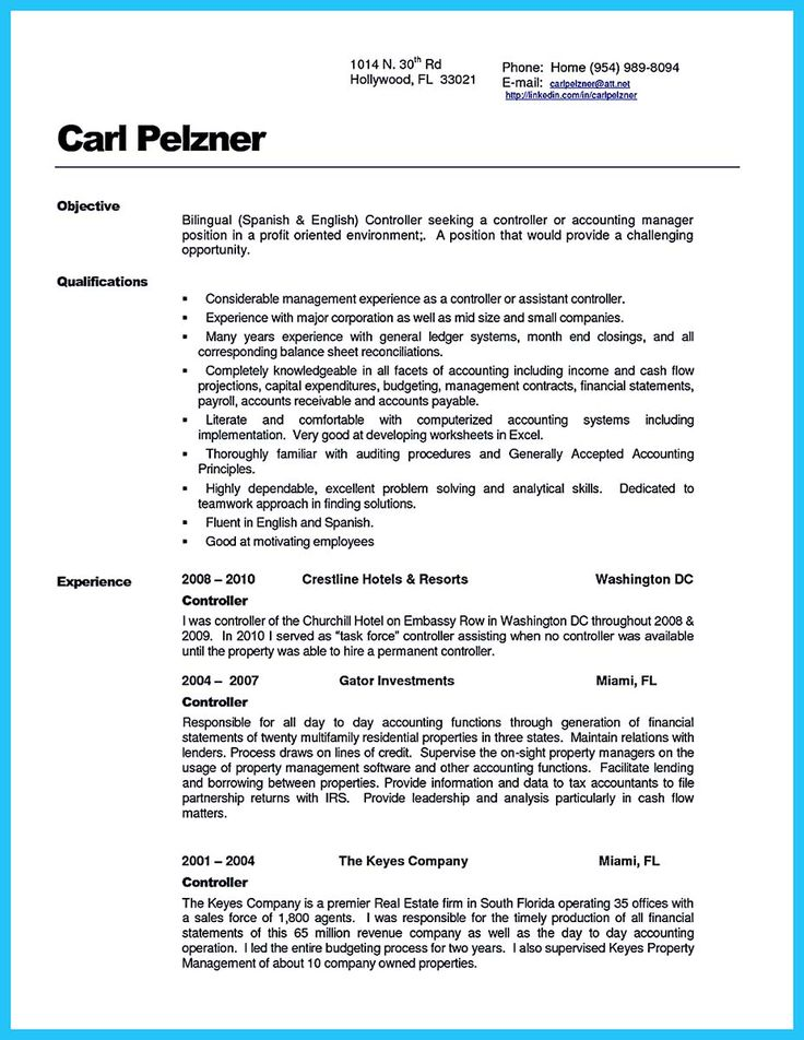 IT Project Manager CV template, CareerOneau