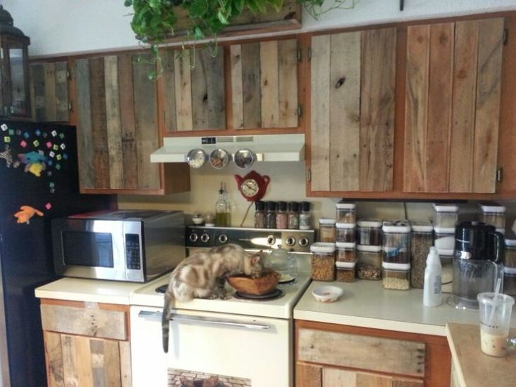 Pallets Cabinets Kitchens Diy