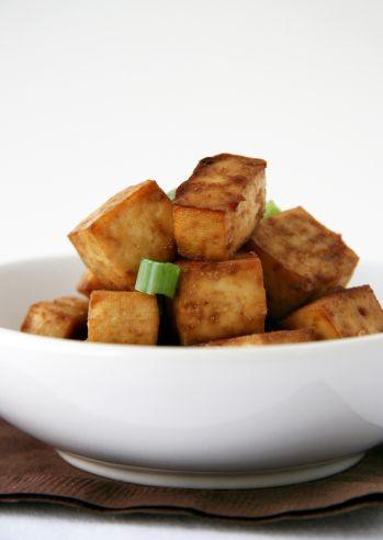 Baked tofu to keep around a
