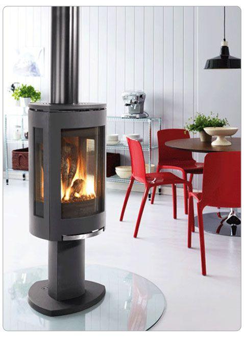 Jotul Gf 370 Dv Free Standing Direct Vent Gas Fireplace