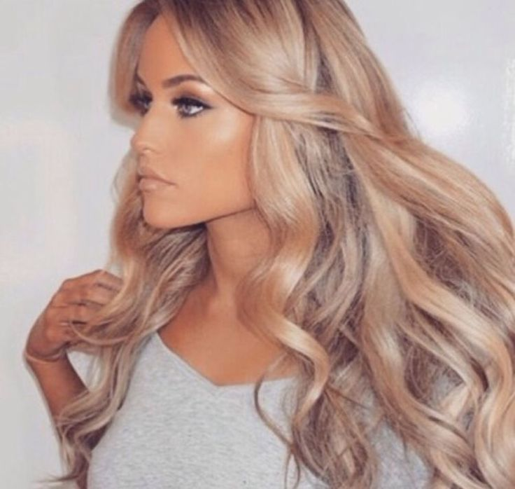 25 Best Ideas About Champagne Blonde Hair On Pinterest
