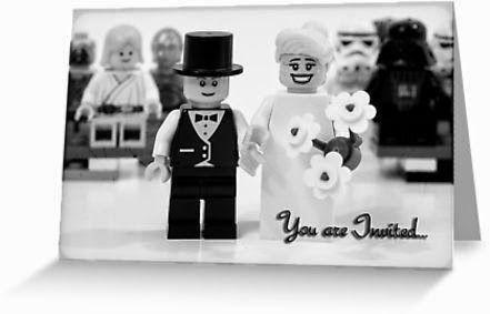 Juguetes de Lego para decorar tu boda: