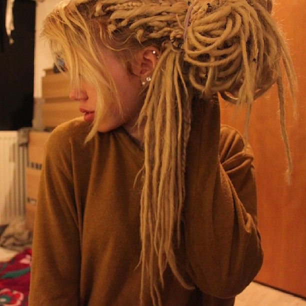 17 Best Ideas About Pretty Dreads On Pinterest Partial