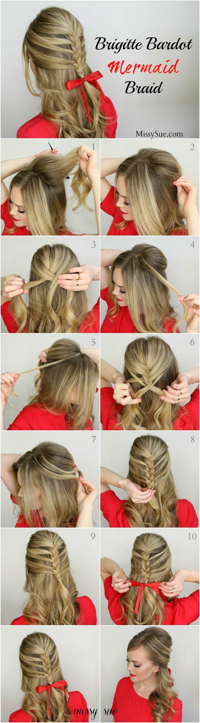 12 مزين تسريحات الشعر وإذا حاولت القيام