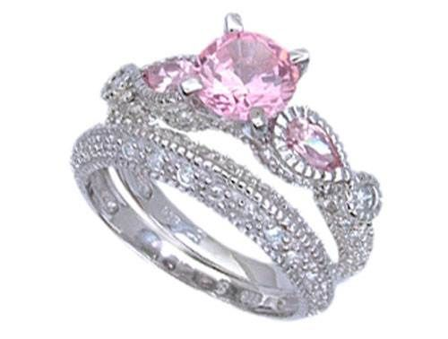 128 Best Images About Pink Diamond Engagement Rings On