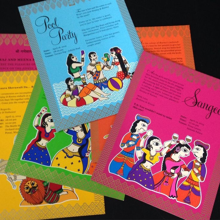 Wedding Invitation Card All the different styles