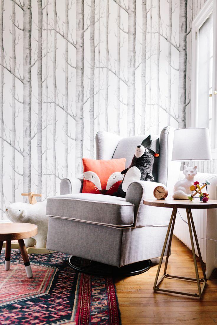 Best 25 Nursery Wallpaper Ideas On Pinterest
