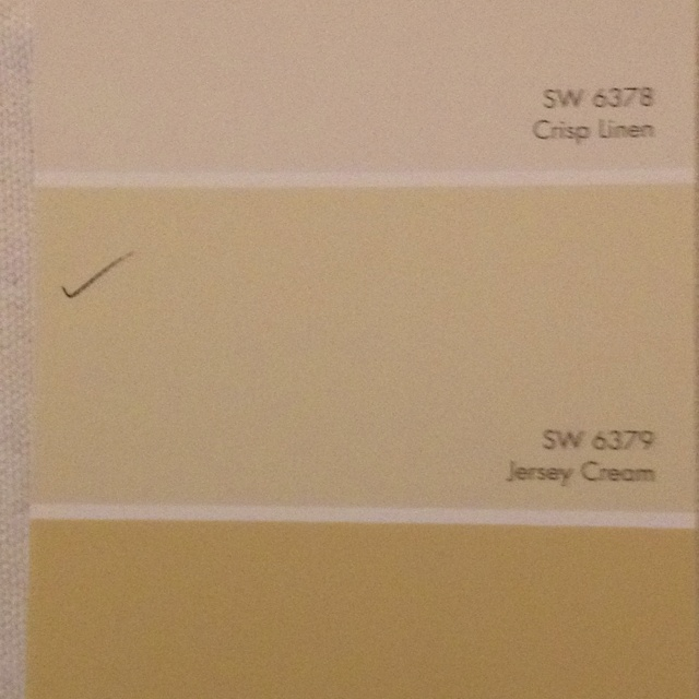 Jersey Cream 6379 Sherwin Williams Entryway Pinterest Coats Cream And Kitchen Cabinets