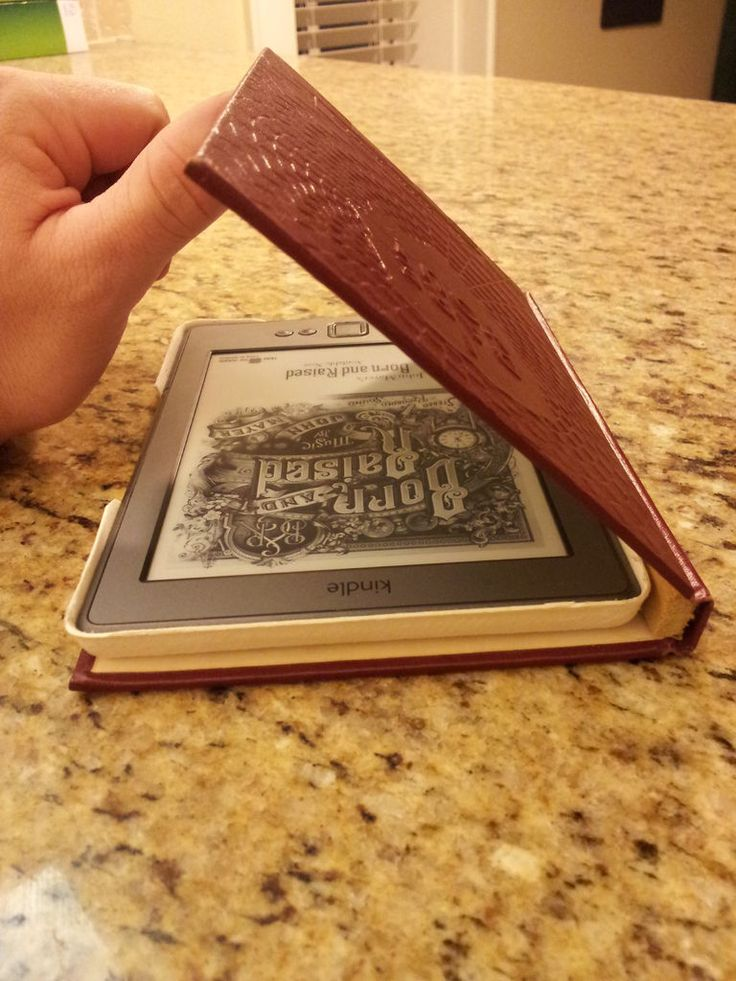 how to make a kindle cover from an old book Custom Kindle