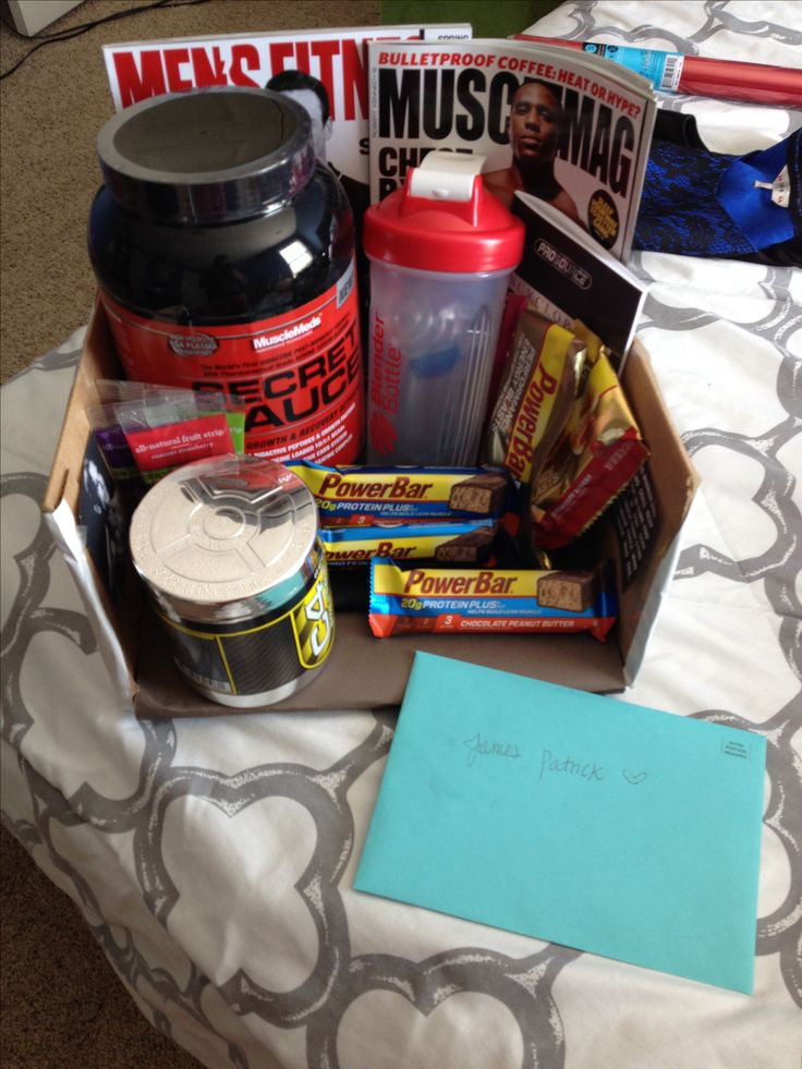 Bodybuilding gift idea! Protein bars, fruit leather