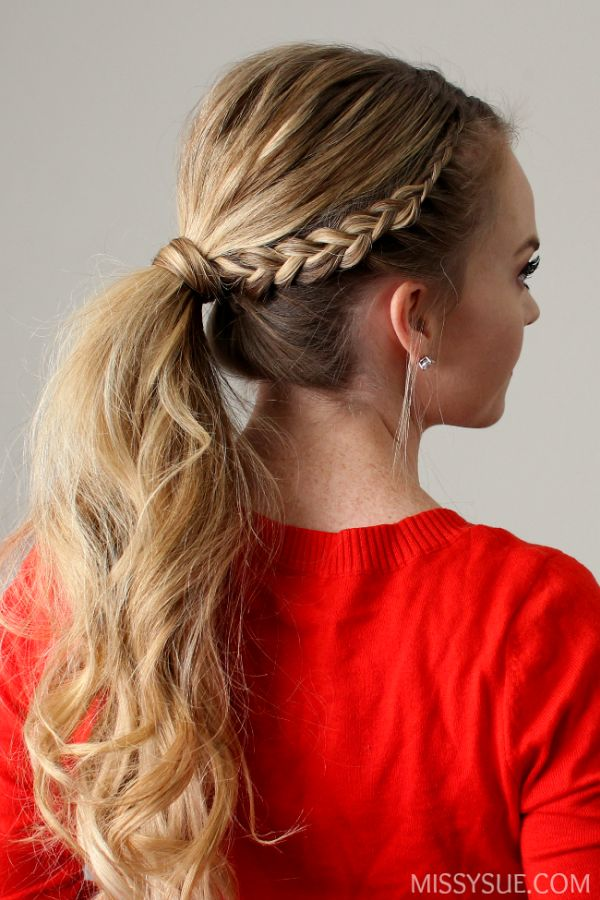 Best 25 Braid Ponytail Ideas On Pinterest Braided
