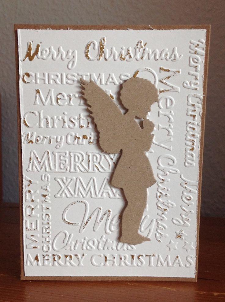 Weihnachtskarten Mit Engel Stanze Alexandra Renke Die