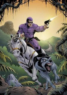 The Phantom Ghost Who Walks Purple Comic Best