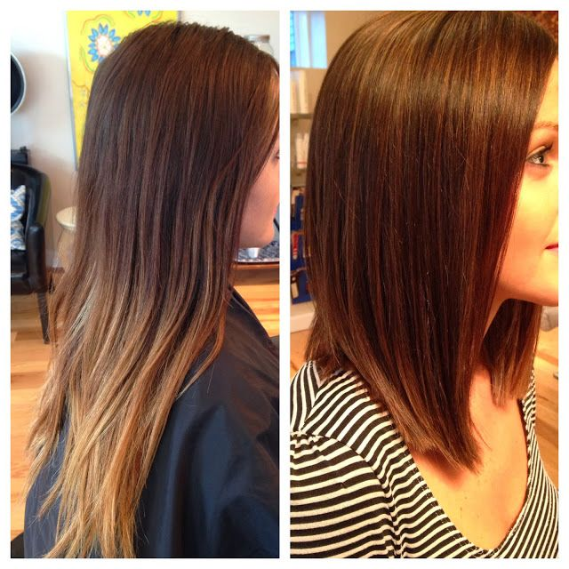 A Beautiful LOB Color The Hair By Giving It Depth And