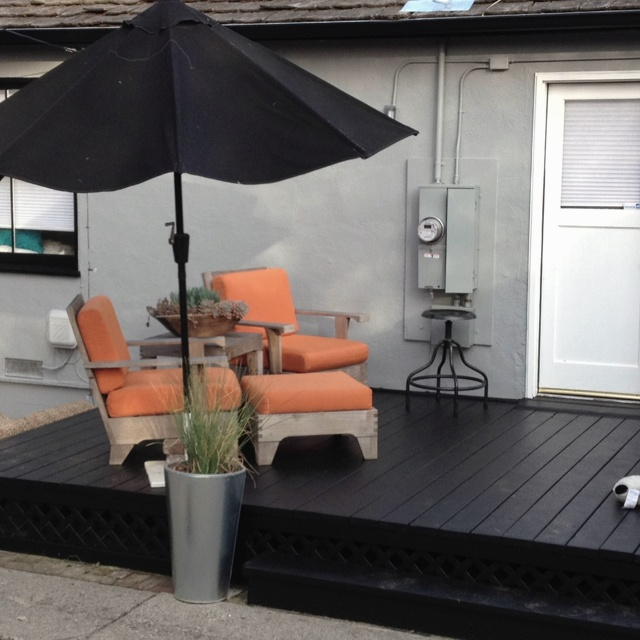 49 Best Images About Black Patio On Pinterest Decks