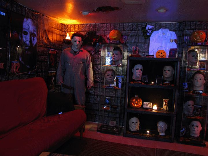 Horror Man Cave Horror Movie Decor Pinterest Image