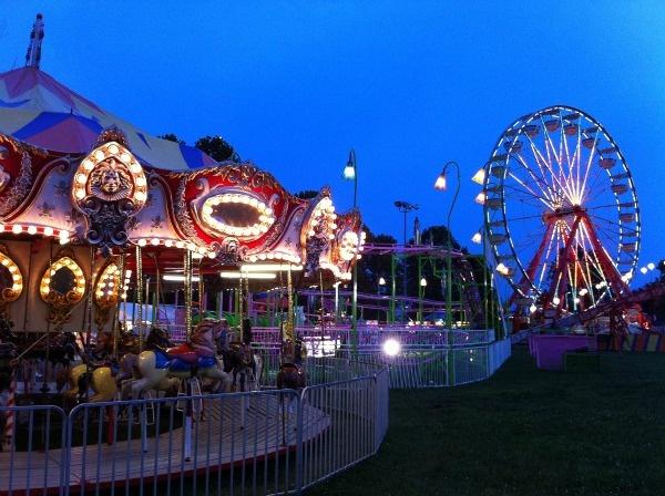 Lions Bluegrass fair in Masterson Station Park, Lexington